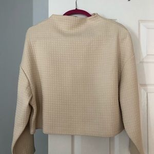 Mock Neck Zara Shirt LIKE NEW